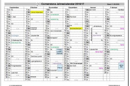 Co-Kalender für die nächsten Monate