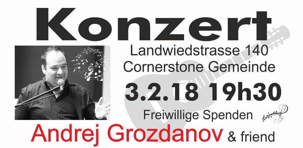 Konzert Andrej banner